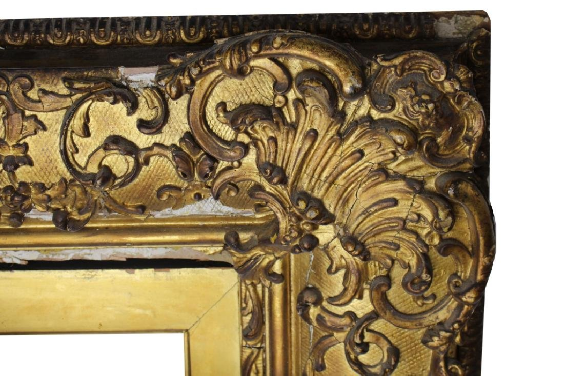 Antique Barbizon Style GIlt/Carved Frame - 2