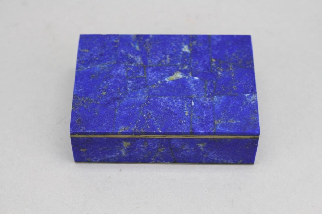 Lapis Box w/ Red Interior
