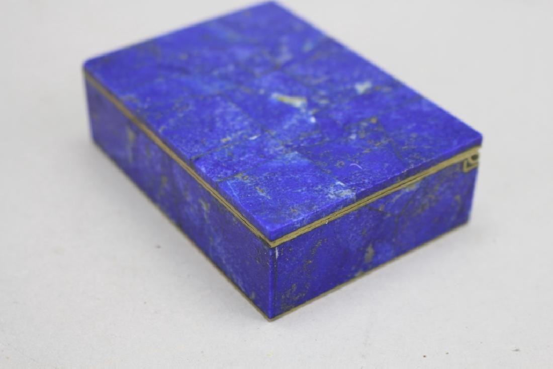 Lapis Box w/ Red Interior - 2