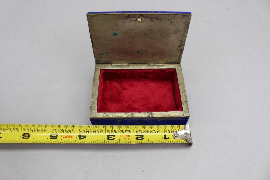 Lapis Box w/ Red Interior - 3