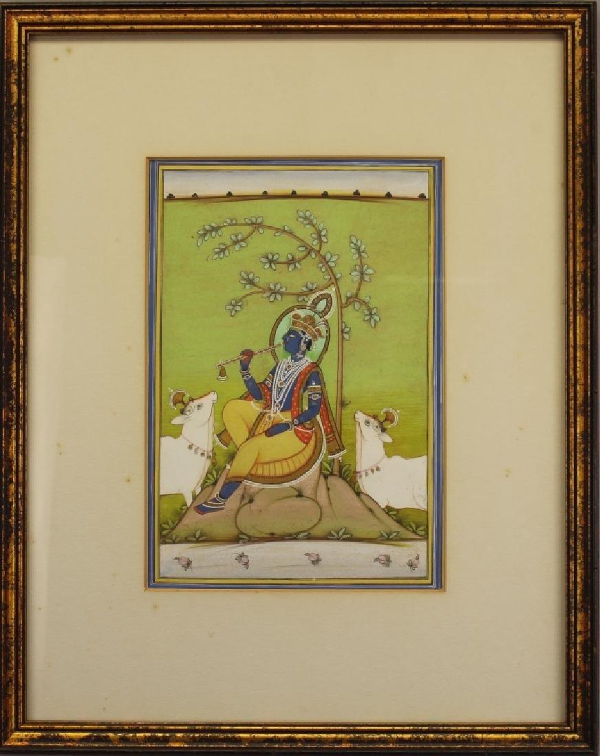 "19th C. ""The Fluting Krishna"", India"