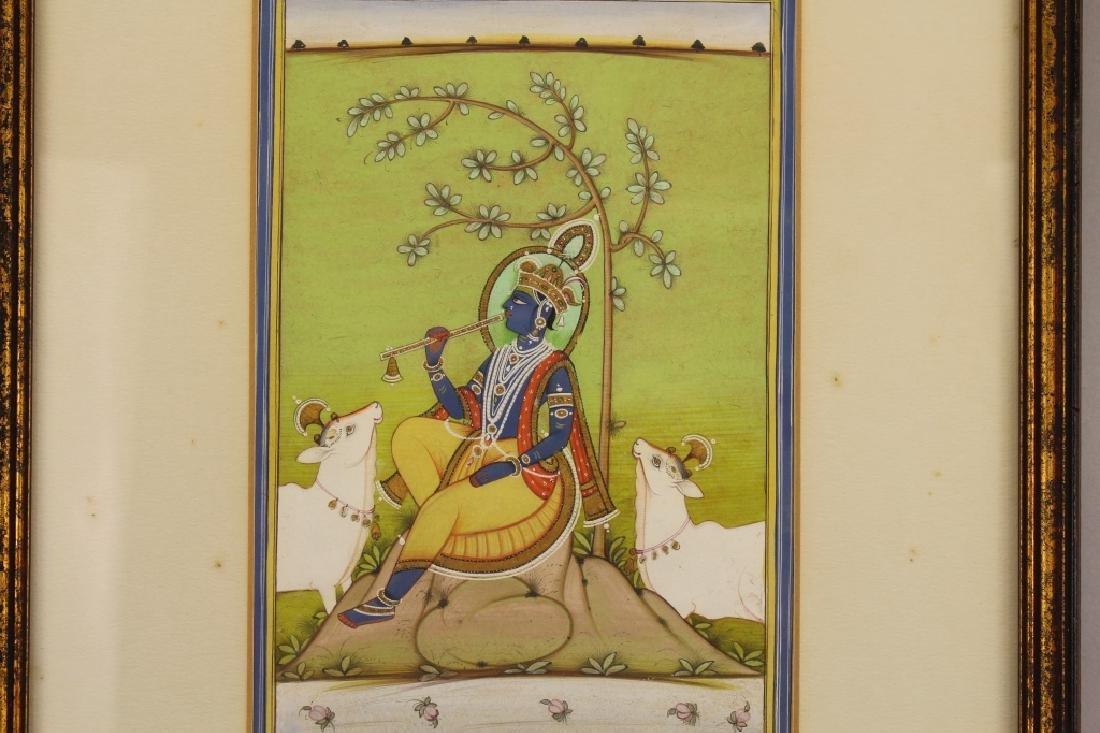 "19th C. ""The Fluting Krishna"", India - 2"