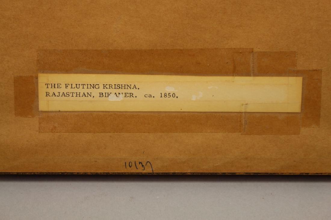 "19th C. ""The Fluting Krishna"", India - 3"