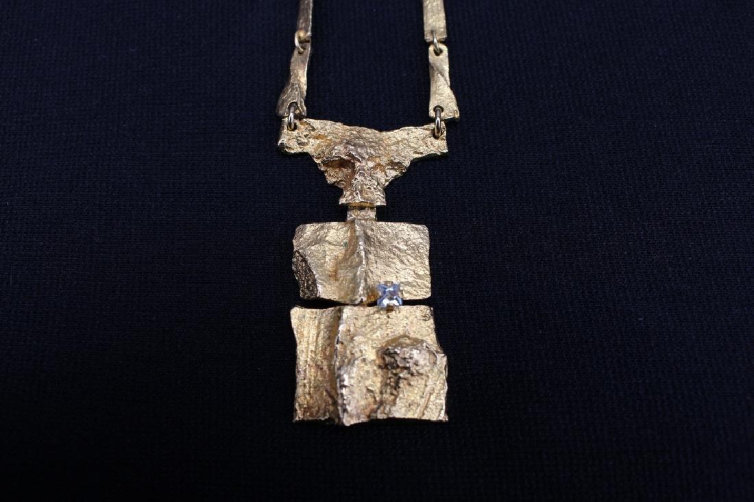 Lapponia Bjorn Weckstrom 18k Gold Necklace - 2