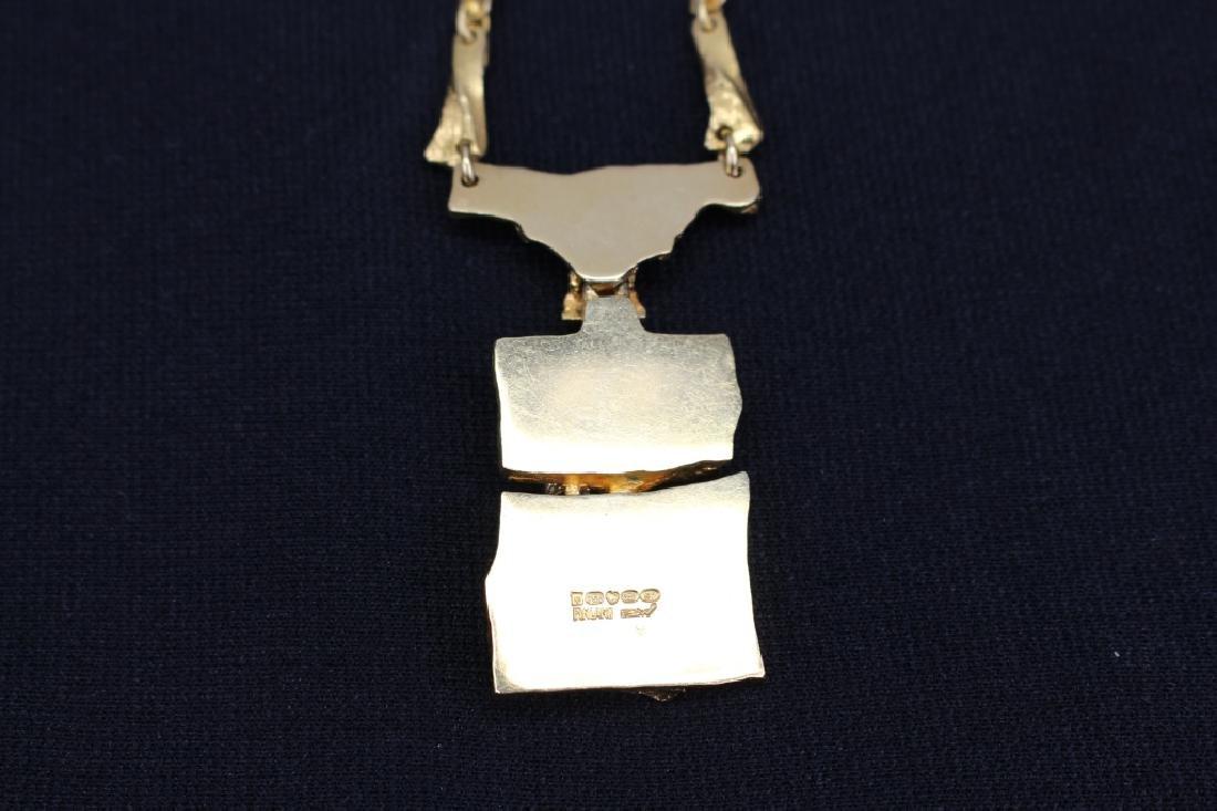 Lapponia Bjorn Weckstrom 18k Gold Necklace - 4