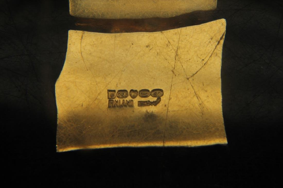 Lapponia Bjorn Weckstrom 18k Gold Necklace - 5