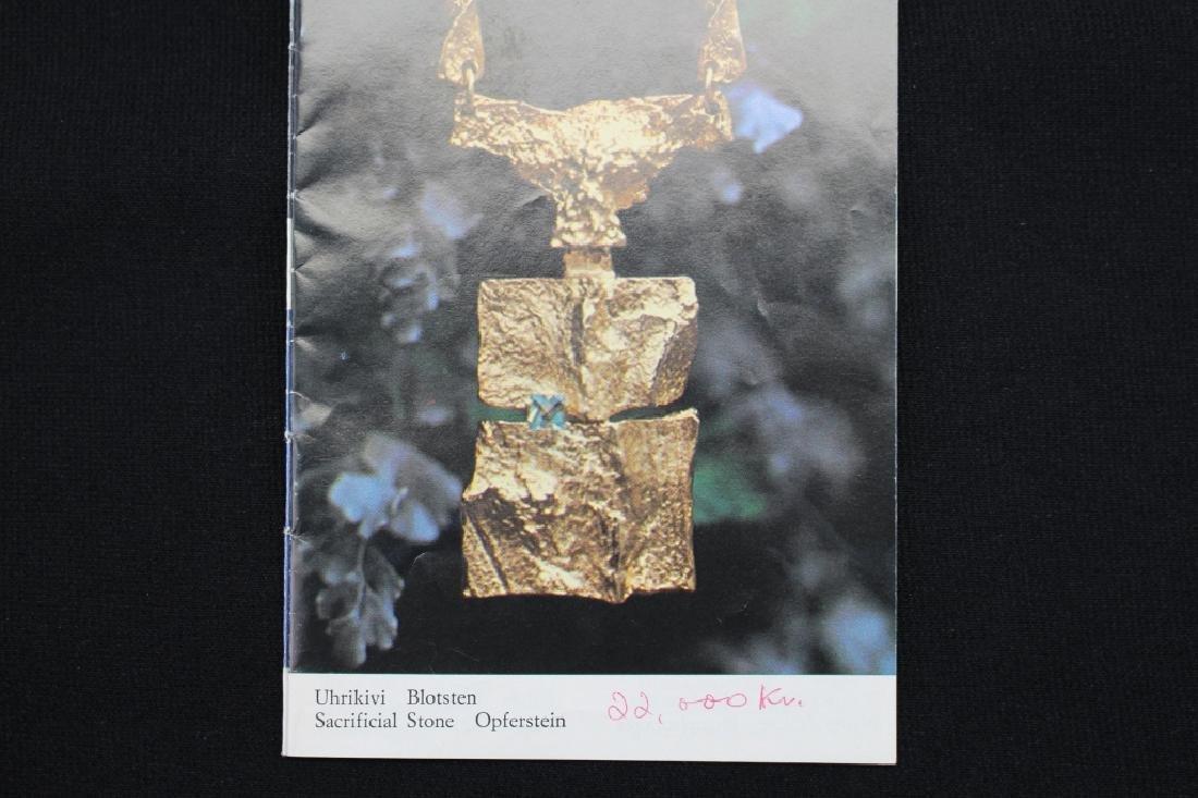 Lapponia Bjorn Weckstrom 18k Gold Necklace - 8