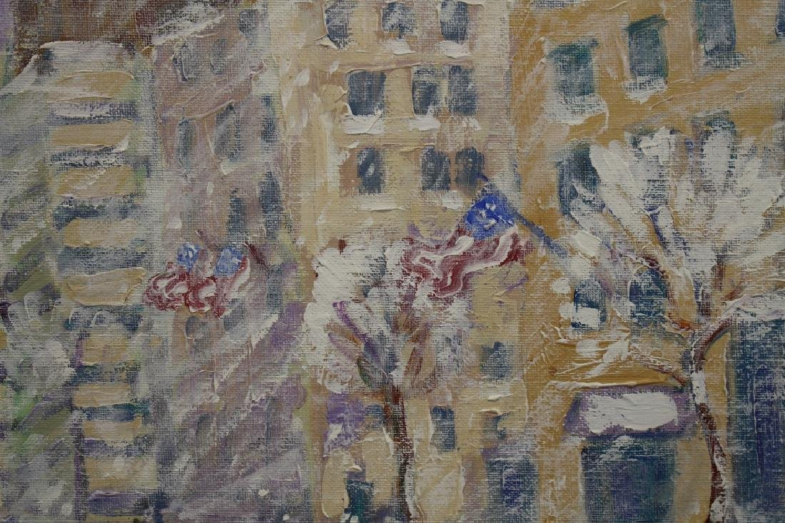 "John Crimmins (NY born 1963) ""Columbus Circle"" - 2"