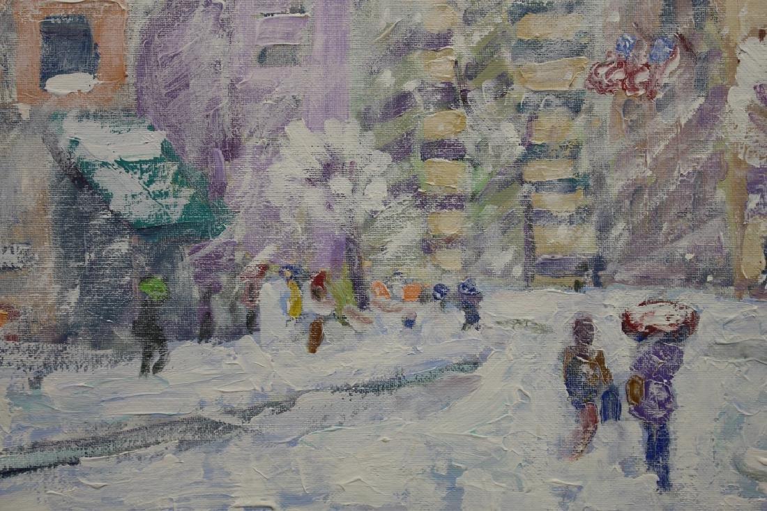 "John Crimmins (NY born 1963) ""Columbus Circle"" - 4"