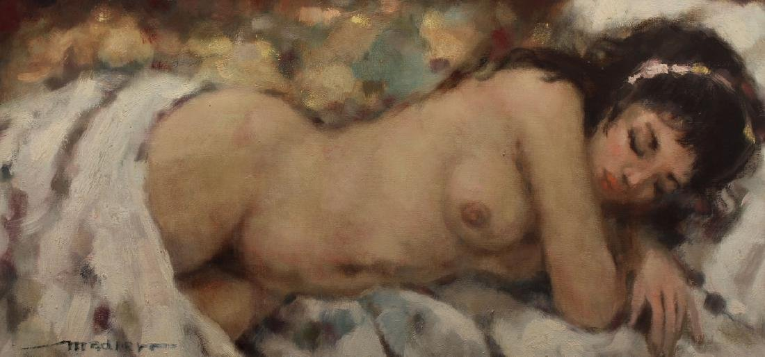 Russian School, Signed 20th C. Nude Woman - 2