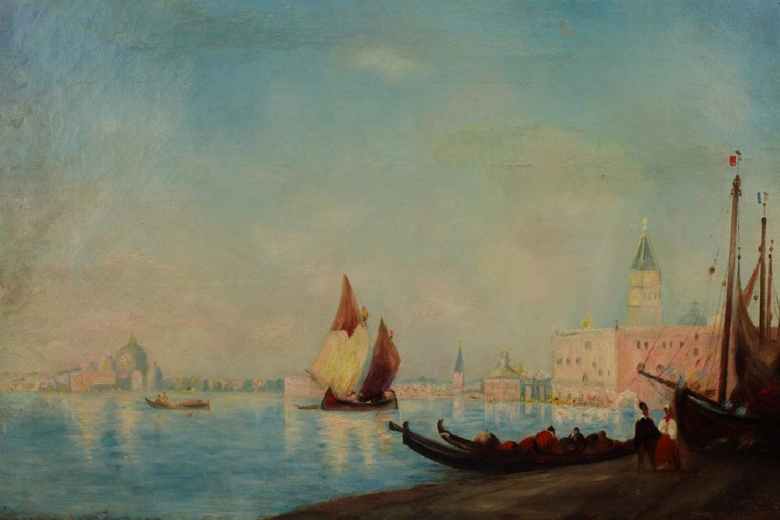 19th C. Venice Italy Painting