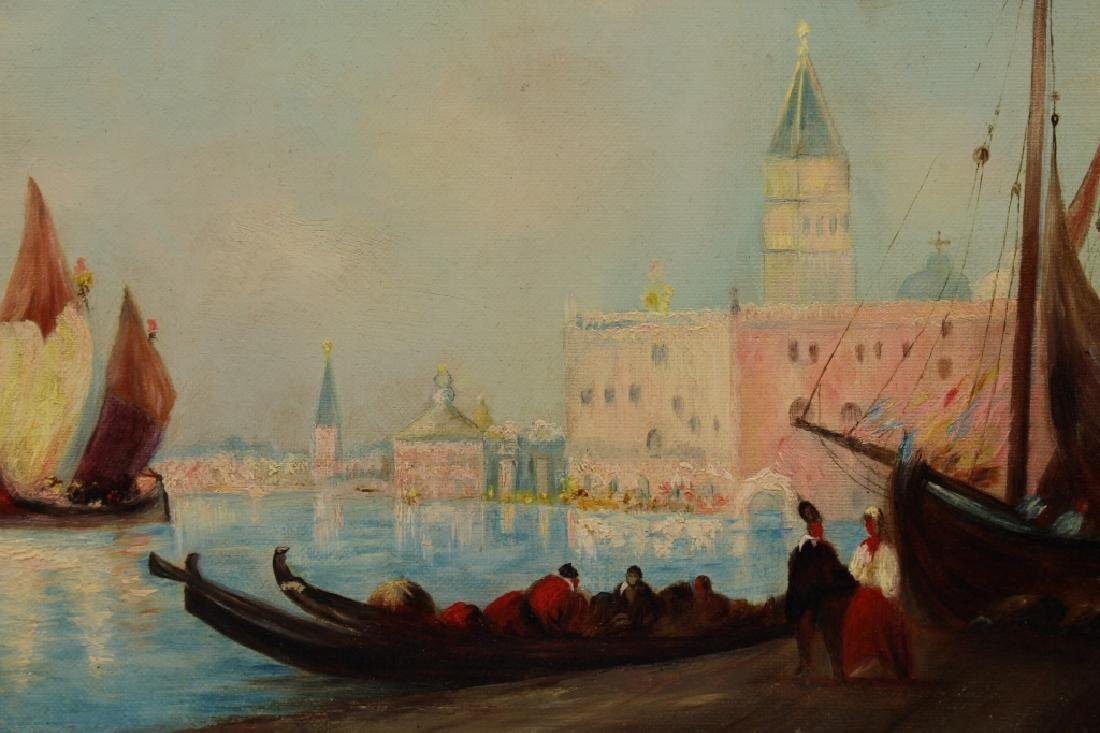 19th C. Venice Italy Painting - 2