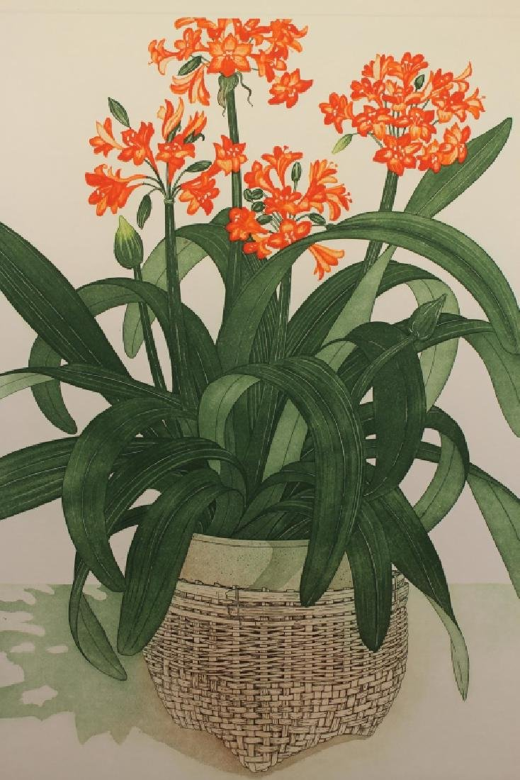 Arnold Iger, Lithograph of a Still Life. 235/250