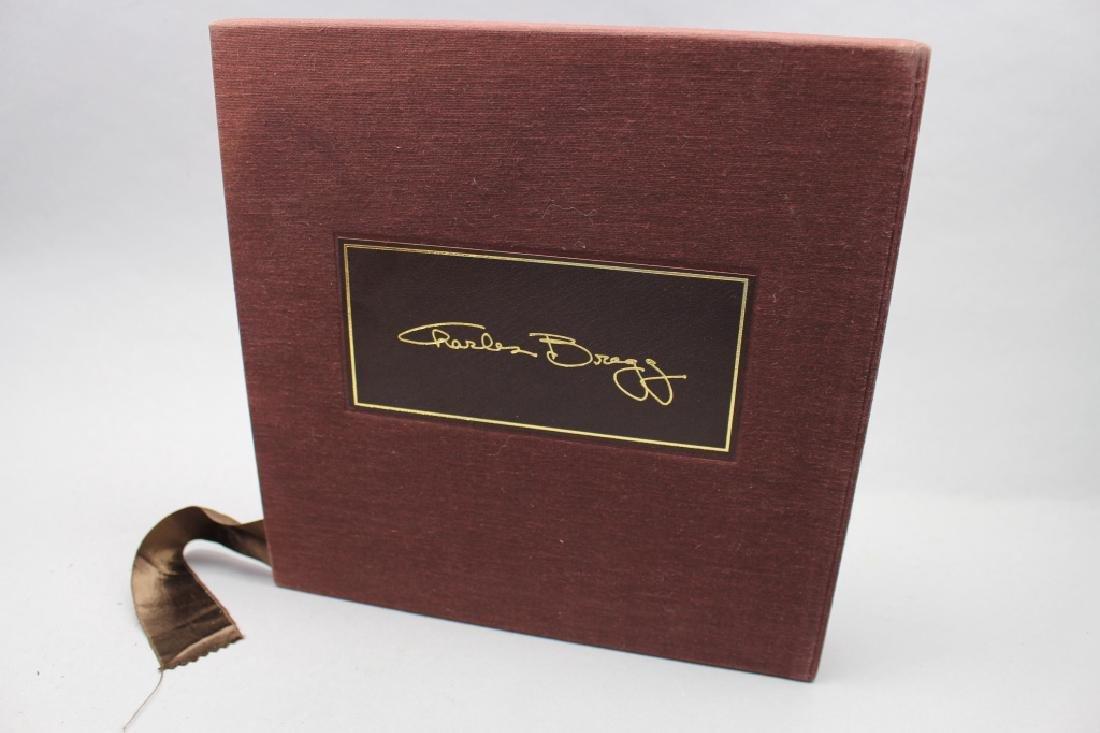"""Bragg"" Charles Bragg lithograph Book, 255/300"