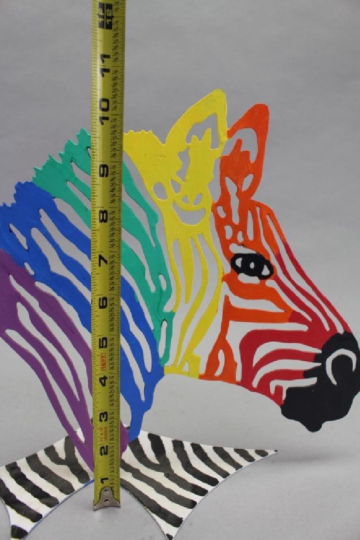 David Gerstein, Zebra Sculpture - 2