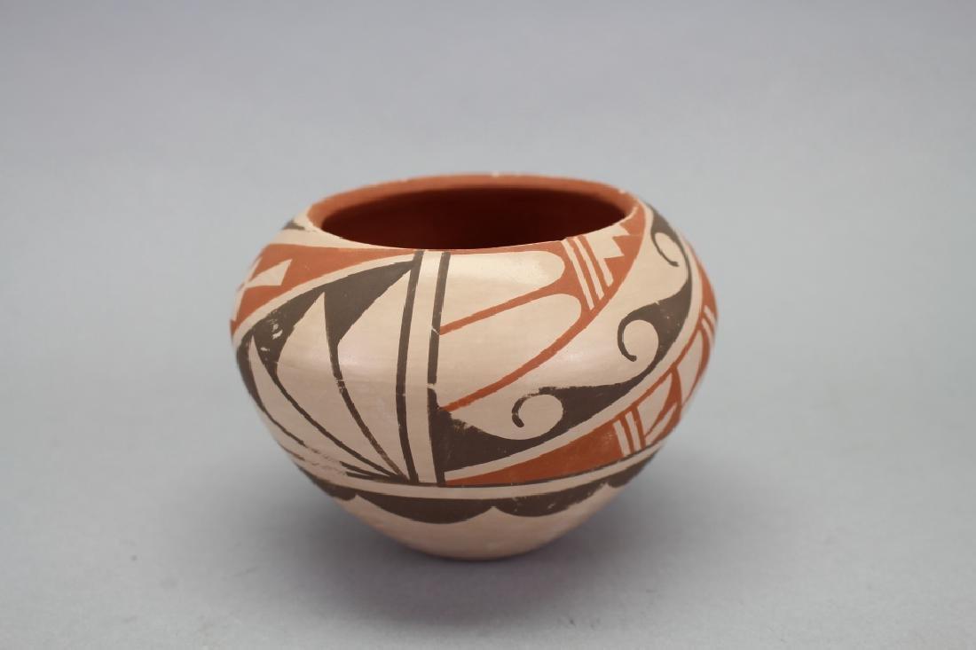 Jemez Jar, Bowl, Signed Geraldine Sandia - 2