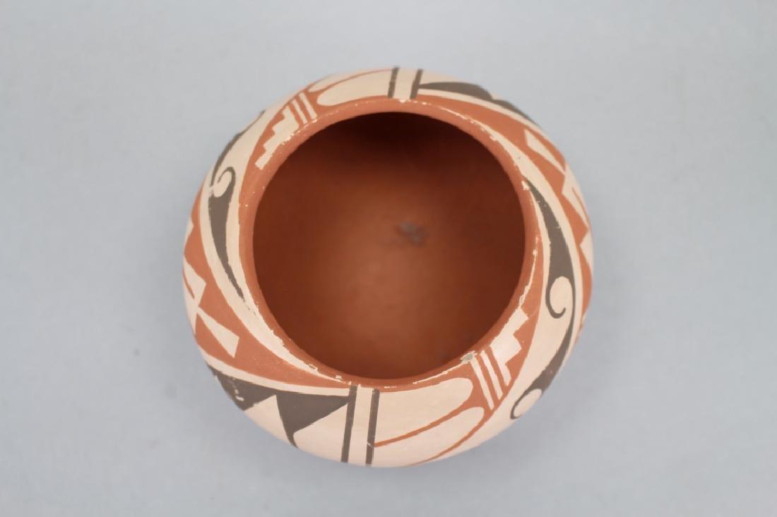 Jemez Jar, Bowl, Signed Geraldine Sandia - 3