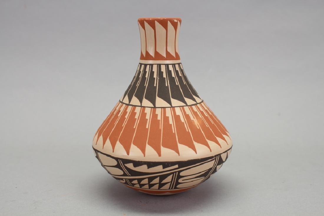 Jemez Jar, Bowl, Signed Geraldine Sandia - 5