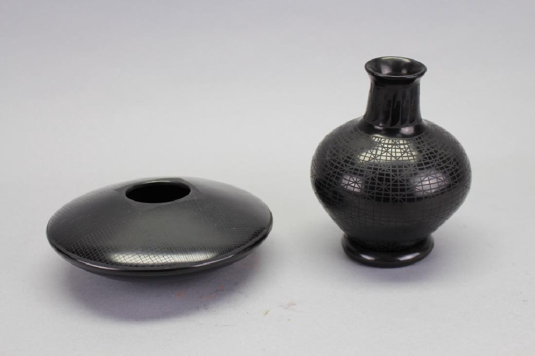 (2) Signed New Mexico Art Pottery Vessels