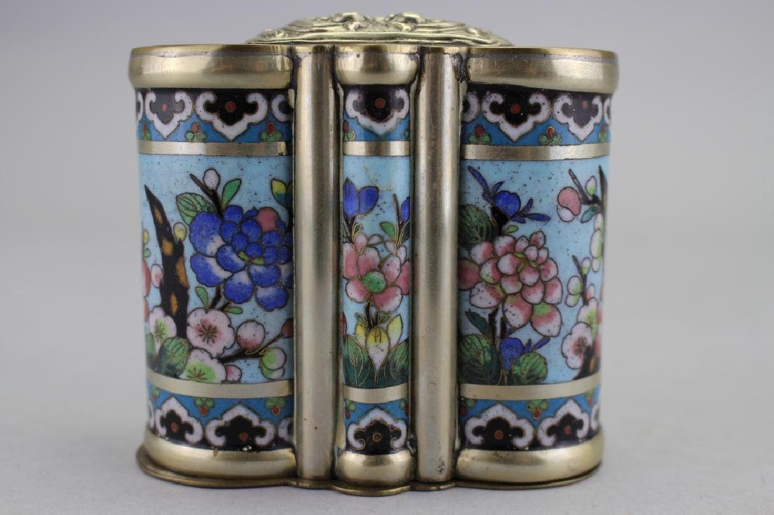 Chinese Cloisonne Container