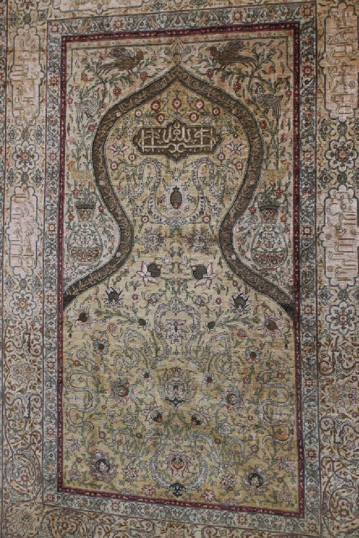 Fine Early 20th C. Signed Persian Rug - 6