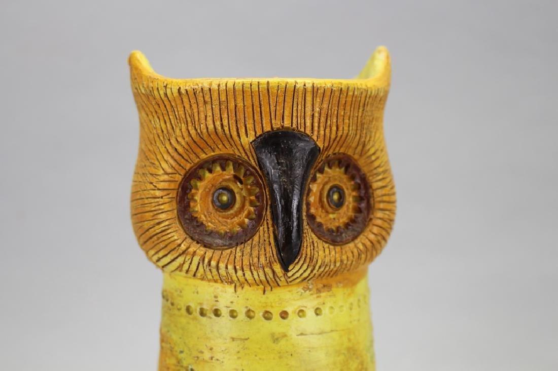MCM Italian Bitossi Resenthal Netter Owl Vase - 2