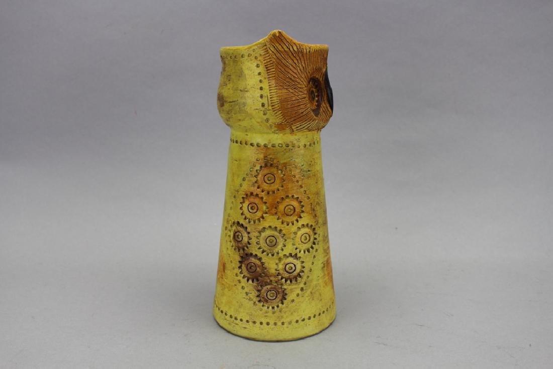 MCM Italian Bitossi Resenthal Netter Owl Vase - 3