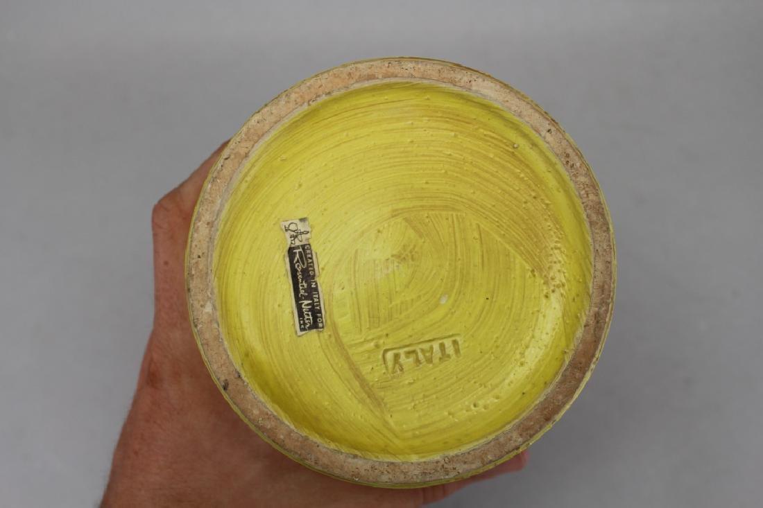 MCM Italian Bitossi Resenthal Netter Owl Vase - 6