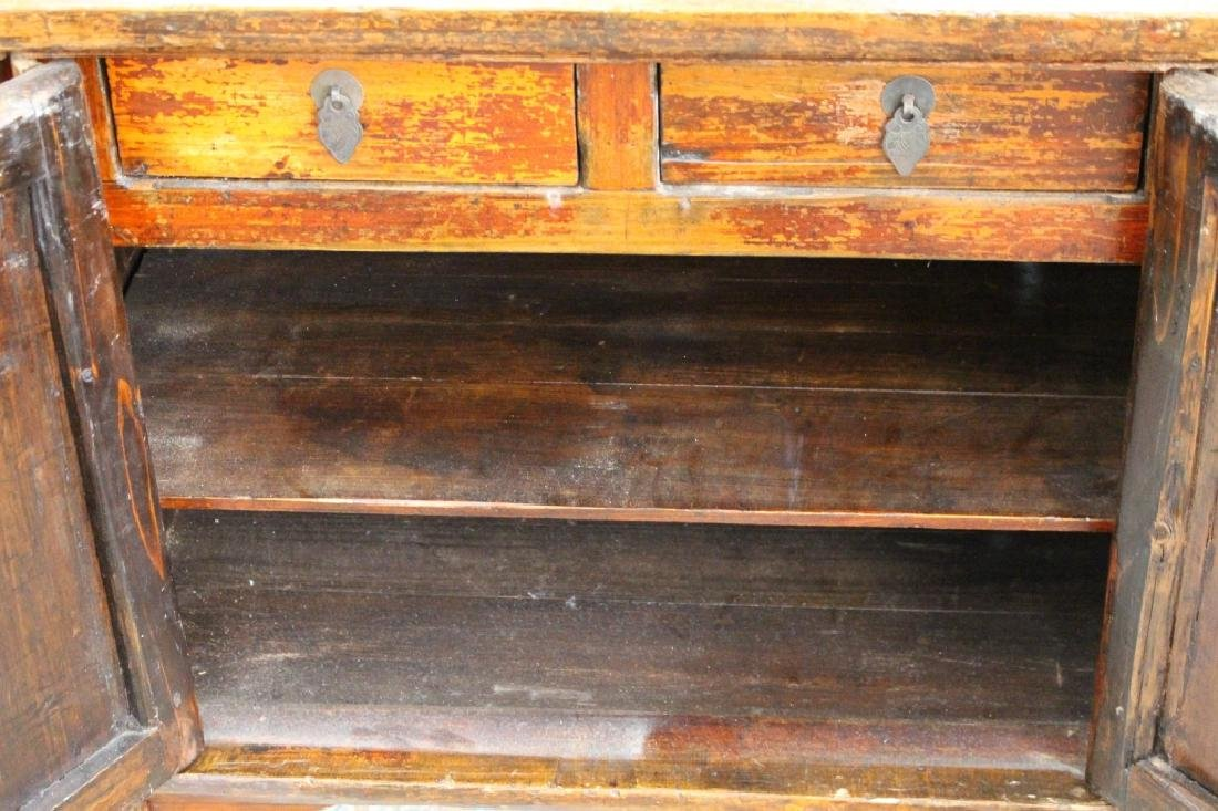 Pair, Antique Chinese Double Door Night Stands - 3