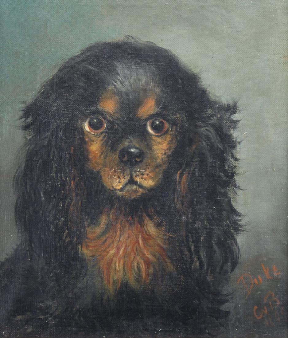 Signed, 1895 Portrait of a Dog - 2
