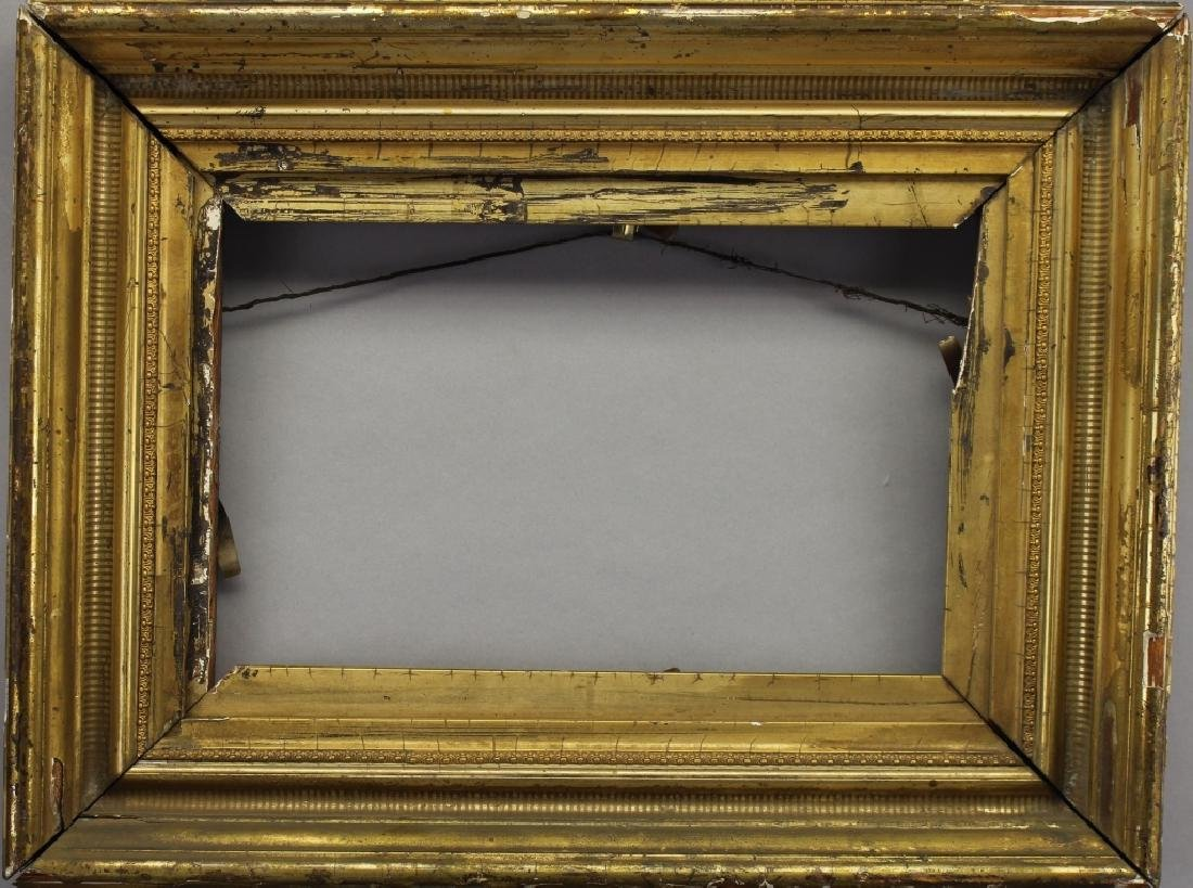 Antique Gilt/Carved Hudson River Style Frame