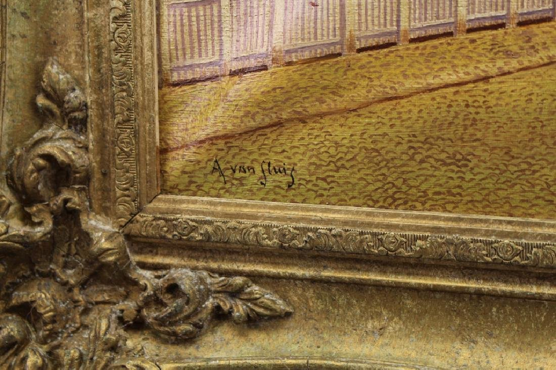 A Van Shris (20th C.) Oil on canvas - 4