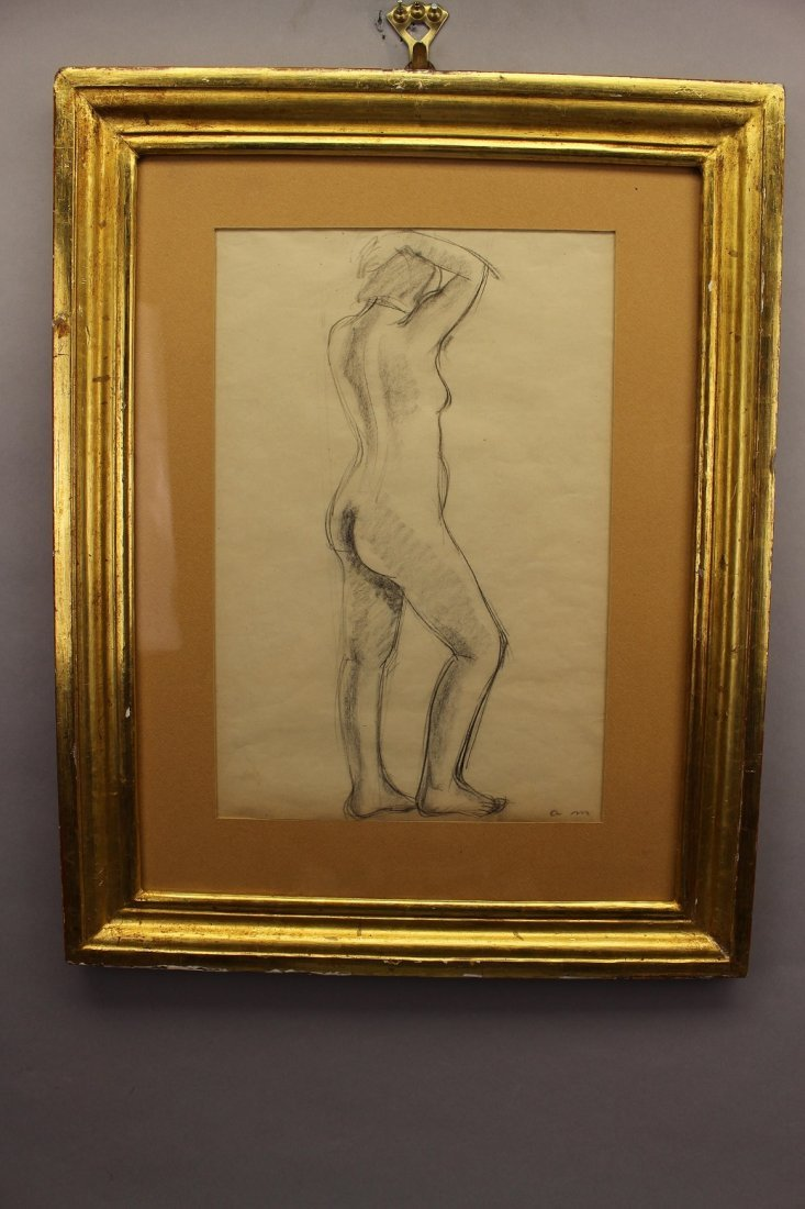 French School, Signed 20th C. Female Nude - 2