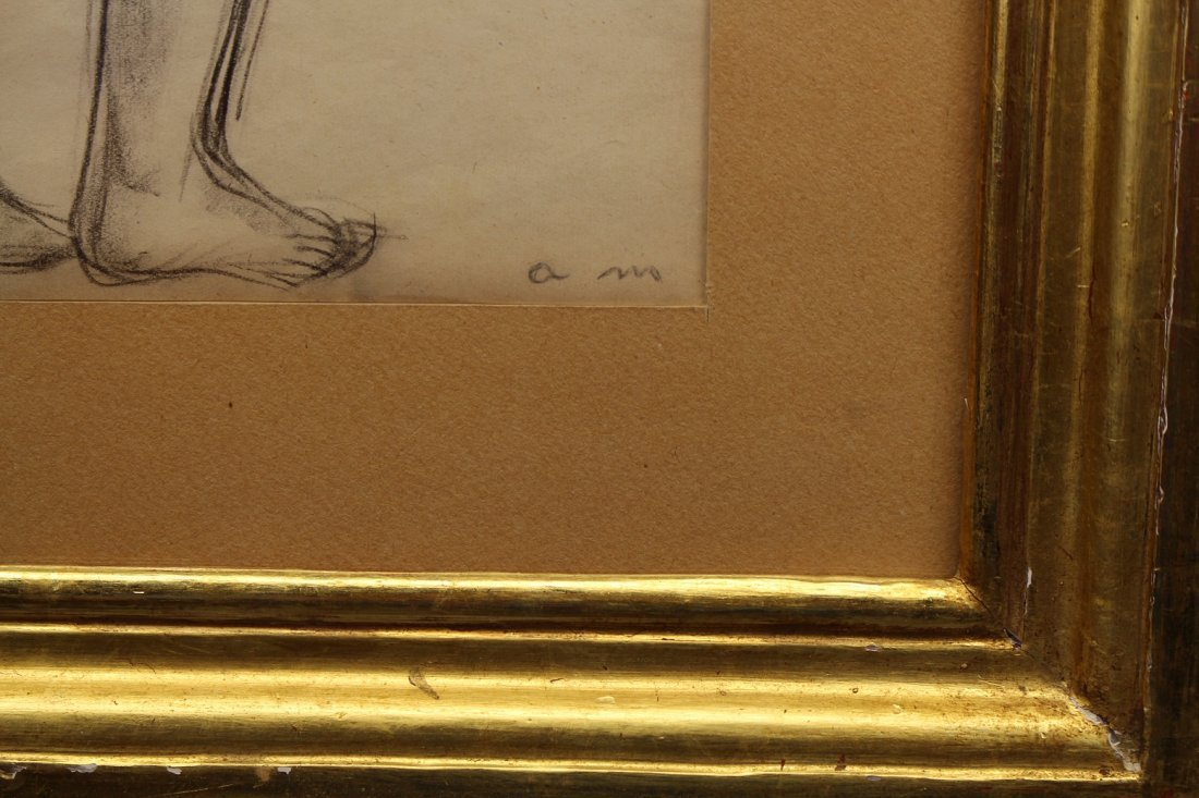 French School, Signed 20th C. Female Nude - 3