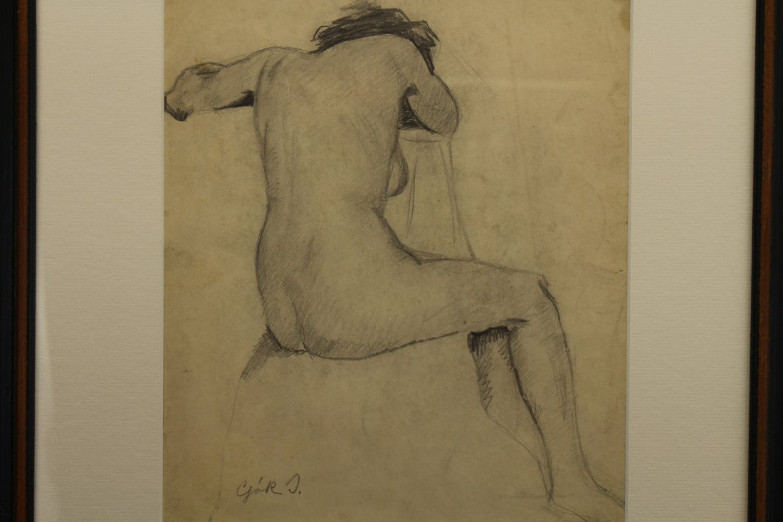 Russian School, Signed 20th C. Female Nude Study - 2