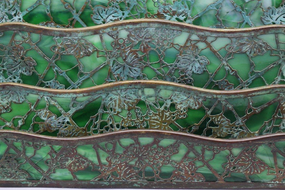 Tiffany Studios Art Nouveau Letter Holder (as is) - 2