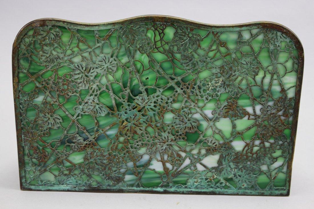 Tiffany Studios Art Nouveau Letter Holder (as is) - 3