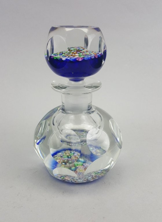 Millefiori Glass Inkwell / Paperweight
