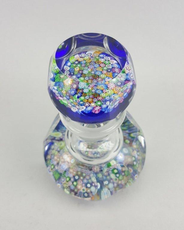Millefiori Glass Inkwell / Paperweight - 2