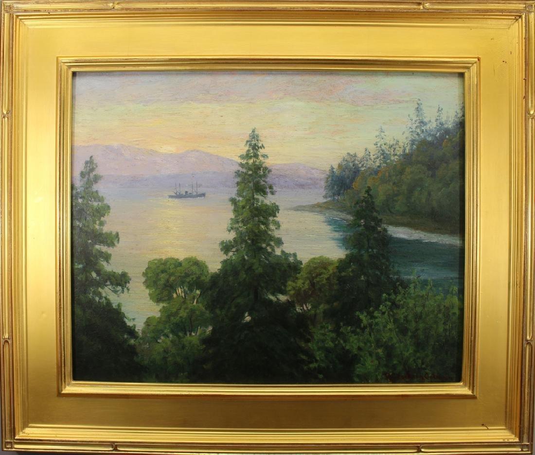 "Roi Colman  (1884 - 1945) ""Lincoln Park"" Seattle"