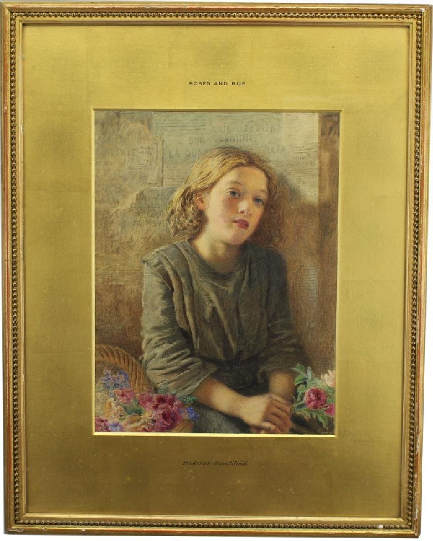 "Frederick Smallfield (1829 - 1915) ""Roses & Rue"""