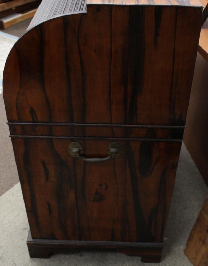 Rare 18/19th C Chinese Export Calamander Desk, Sothebys - 8