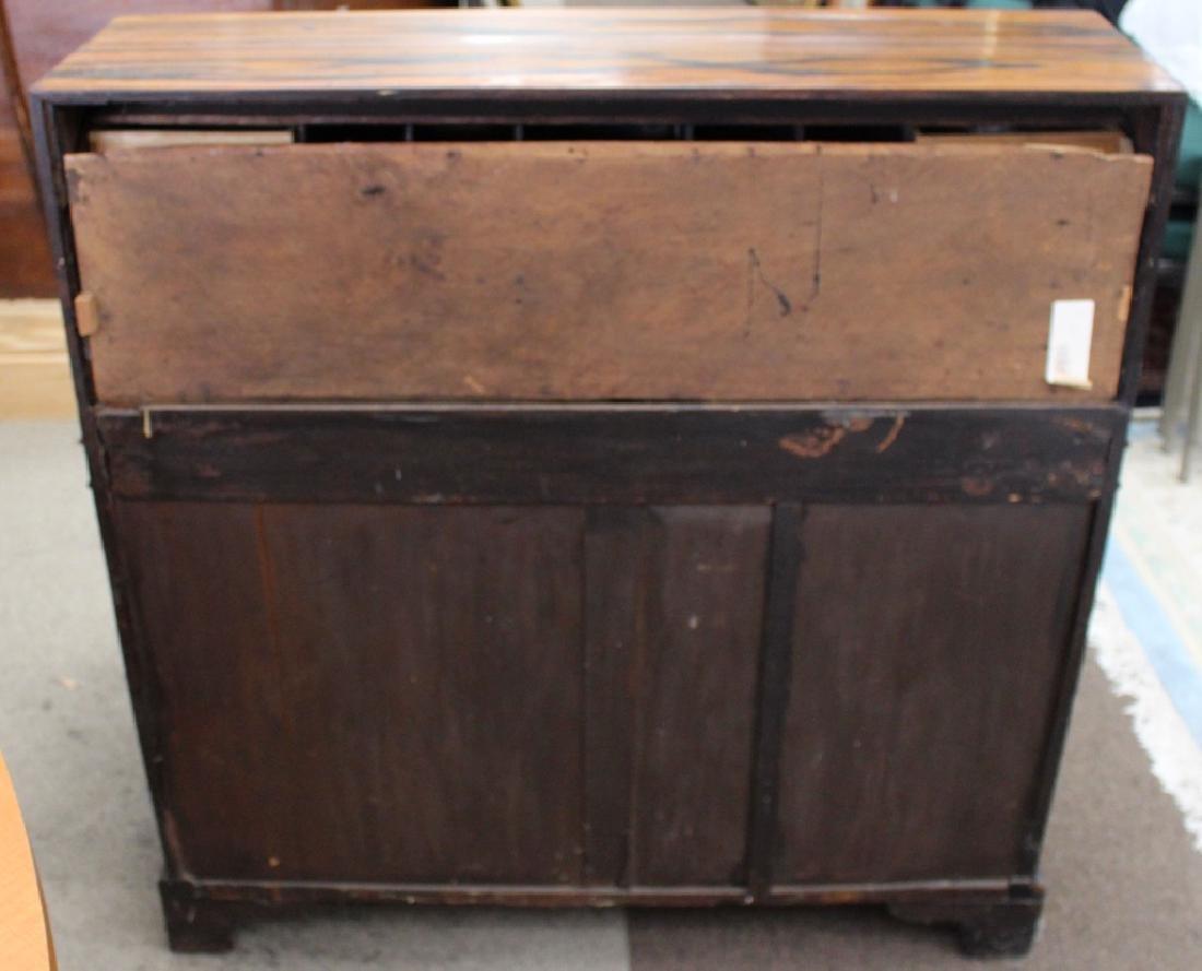 Rare 18/19th C Chinese Export Calamander Desk, Sothebys - 9