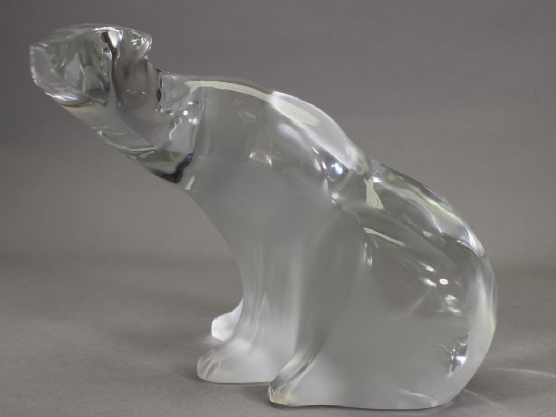 Signed, French Lalique Polar Bear