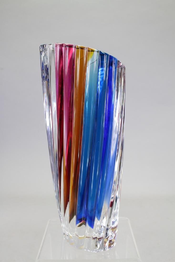 Signed Kosta Boda Glass Vase