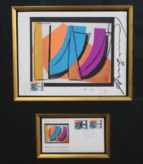 """un Stamp"" Andy Warhol (1928 - 1987)"