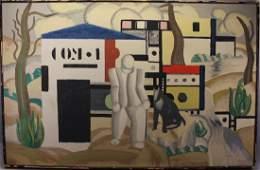 After Fernand Leger 1921 Industrial Landscape