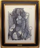 Pablo Picasso (1881 - 1973) Lithograph