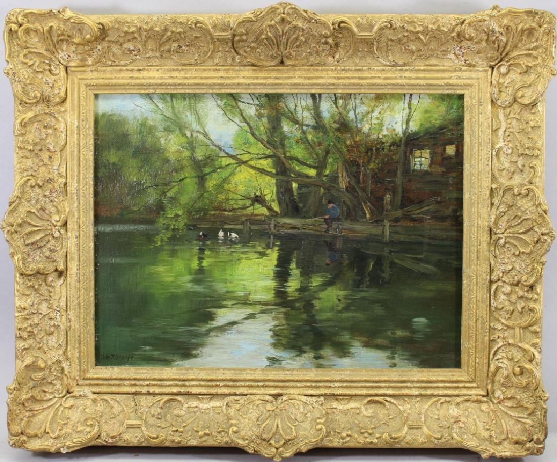 "Charles Paul Gruppe (1860 - 1940) ""Lake Geneva NY 1919"""