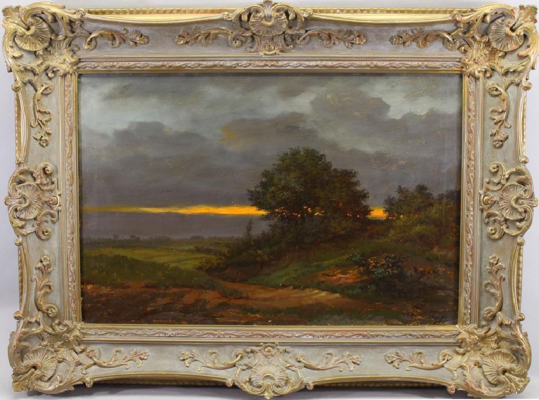 Kende, Signed Luminous landscape